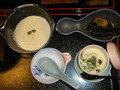 出来立て豆腐 茶碗蒸し
