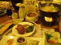 和洋折衷の夕食でした