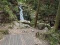 白滝の休憩場所