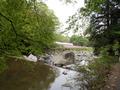 宿の手前 バーベキューが出来る河原