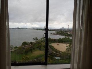 ホテル北側の景色