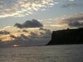 筆ん崎の夕陽