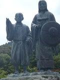 もみじ公園内の像
