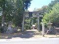 宿から7、2㎞ 車で16分程度 奈具海岸の先 栗田半島の住吉神社