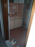 フロア共同の洗面所