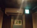 廊下用に エアコン設置されてます