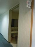 フロアの共同トイレ