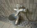 中浴場 洗い場の蛇口