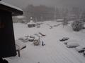 308号室よりの眺望 1月14日の朝