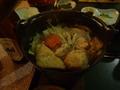 夕食 鶏鍋