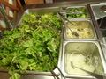 サラダコーナー
