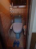 2つあるトイレの1つ 洋式