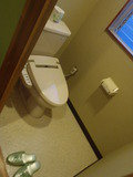 部屋のトイレ(洋式)