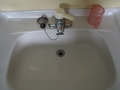 姫湯 脱衣所の洗面台