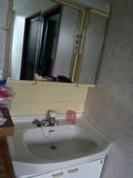 姫湯の脱衣所の洗面台