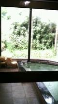朝風呂からの眺望