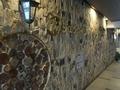 南側通路ホテル名の壁面