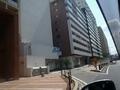 ホテル外観 裏側 駐車場入り口