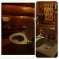 ログハウス1階トイレその1