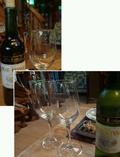 夕食時に注文したワイン