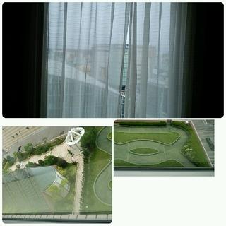 12階の部屋からの眺望