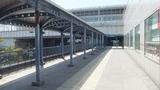 りんくうタウン駅に続く道