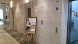 1Fのエレベータホール