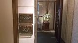 和食のレストランの入口