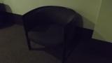ロビーにある待合の椅子