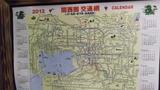 近畿圏の交通路線図