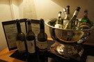 ラウンジのワイン