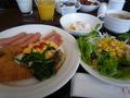 北海道の素材を使った美味しい朝食