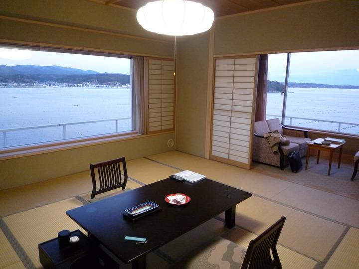 美しい海に囲まれた素敵なリゾートホテル 南三陸全体の復興を願ってまた訪れます