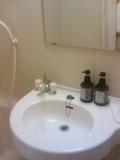 洗面台とシャンプー