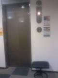 客室階のエレベーター前