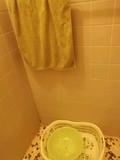 桶とタオル