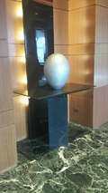 卵形オブジェ