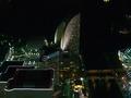 夜景の中のヨコハマグランドインターコンチネンタルホテル