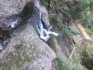 阿寺の七滝ハイキングに行ってきました