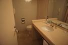 浴室も広々、きれいでしたよ。