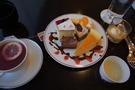 デザート皿に絵をかくのは楽しい!