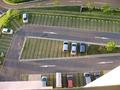 きちんと整備された駐車場