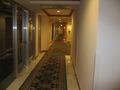 リゾート感たっぷりの廊下。