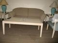 和洋室のソファセット。