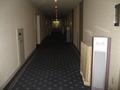 式場フロアの廊下。