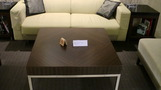 ロビーのソファー。