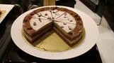 ディナービュッフェのケーキ