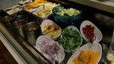 サラダコーナー。