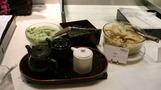 手巻き寿司コーナー。