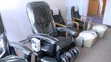ふつうのマサージ椅子。
